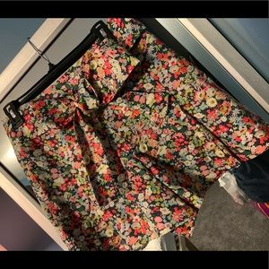 J. Crew Shorts - NWT J. Crew tie waist short Liberty Thorpe Floral